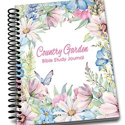Country Garden Scripture Journal