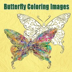 Butterfly Coloring Images