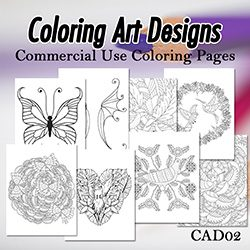 Coloring Art Designs 02