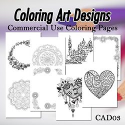 Coloring Art Designs 03
