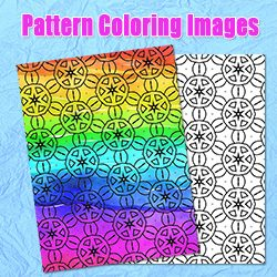 Pattern Coloring Images