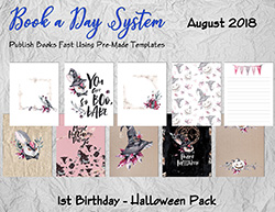 Book a Day System Package 13 – Halloween