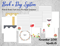 Book a Day System – November 2018 Collection