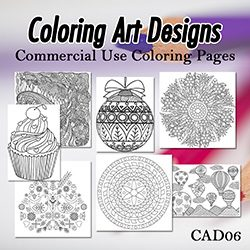 Coloring Art Designs 06