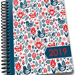 2019 One Page A Day Planner