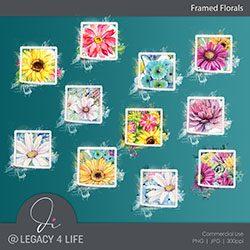 Framed Florals