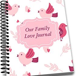 Kickstarter January 2019 – Our Family Love Journal