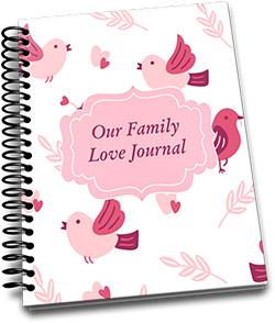 Kickstarter January 2019 – Our Family Love Journal