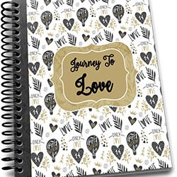 Journey to Love Valentines Journal