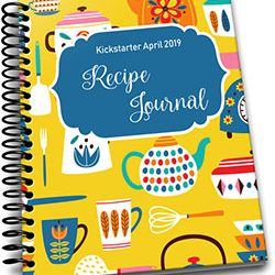 Kickstarter April 2019 – Recipe Journal