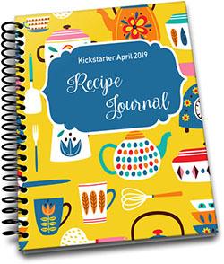Kickstarter April 2019 – Recipe Journal
