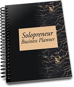 Solopreneur Business Planner