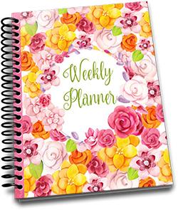 Weekly Undated Planner