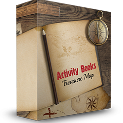 Activity Books Treasure Map