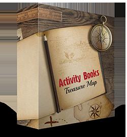 Activity Books Treasure Map