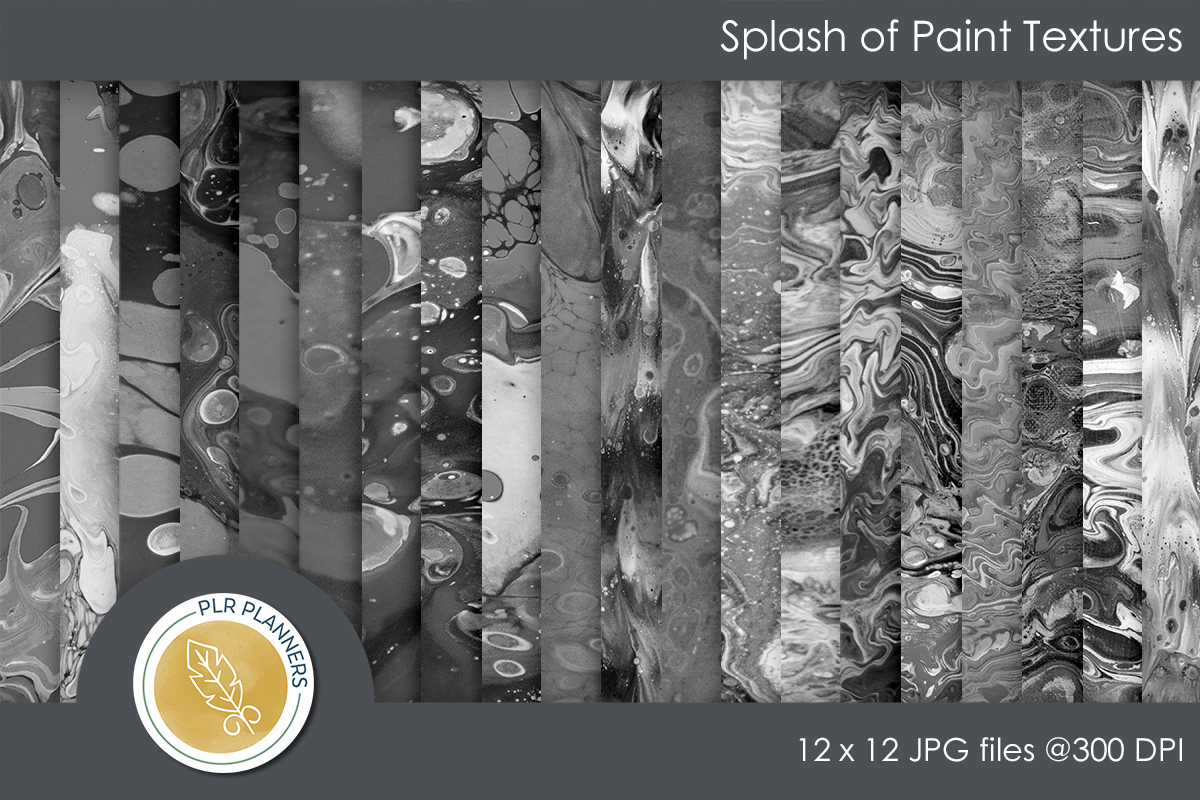 Splash of Paint Textures