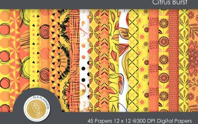 Citrus Burst Paper Pack
