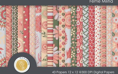 Bold & Beautiful Paper Pack