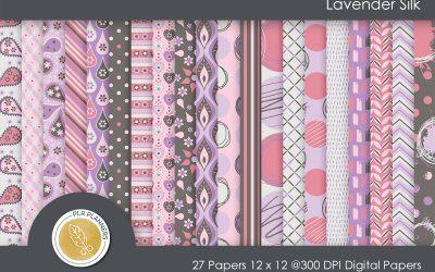Lavender Silk Paper Pack