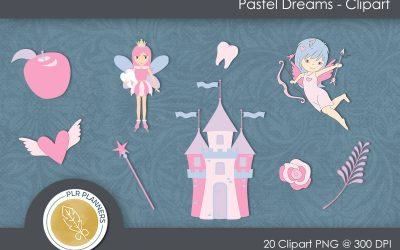 Pastel Dreams Clipart