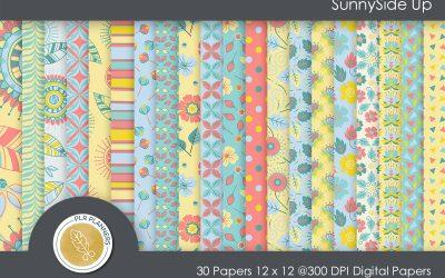 SunnySide Up Paper Pack