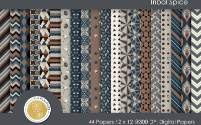Tribal Spice Paper Pack