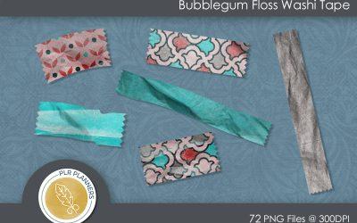 Bubblegum Floss Washi Tapes