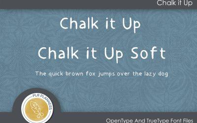 Chalk It Up Font