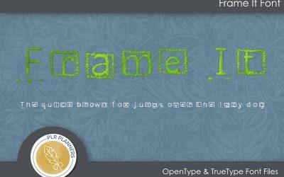 Frame It Font