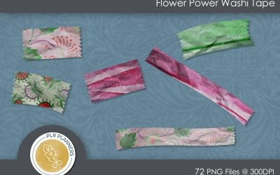 Flower Power Washi Tapes