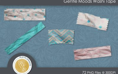 Gentle Moods Washi Tapes