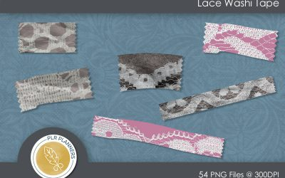 Lace Washi Tapes