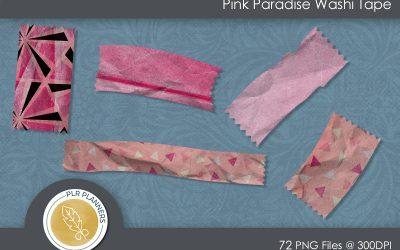 Pink Paradise Washi Tapes
