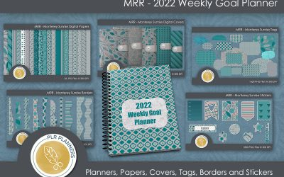 MRR – 2022 Weekly Goal Planner