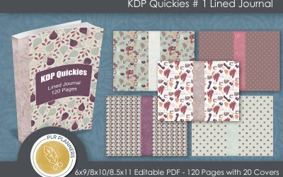 KDP Quickies – Lined Journal