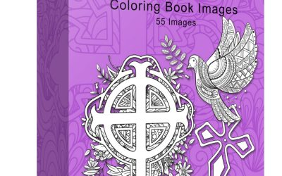 Faith Based Zentangle Coloring Images