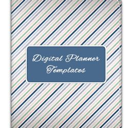 Digital Planner Template Bundle