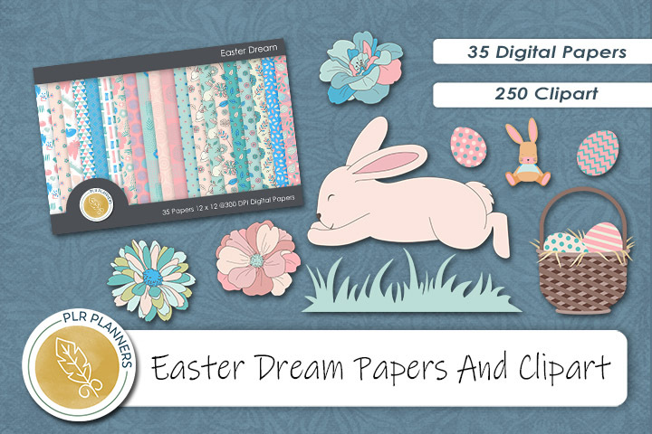 Easter Dream Graphics Resource Pack