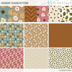 Fragrant Season Layered Patterns