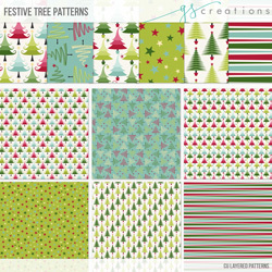 Festive Tree Patterns