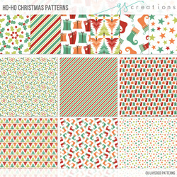 Ho-Ho Christmas Patterns