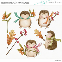 Illustrations Autumn Prickles