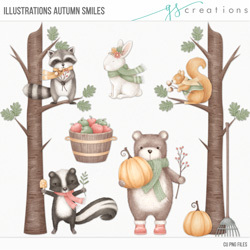 Illustrations Autumn Smiles