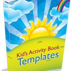 Kids Activity Book Templates