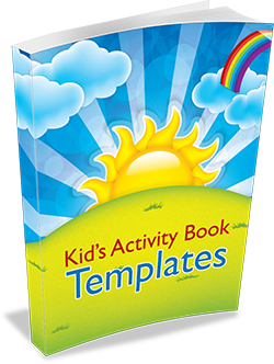 Kids Activity Book Templates
