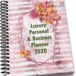 Luxury Personal & Business Planner 2020