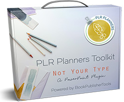 PLR Planners Toolkit – Not Your Type