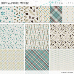 Christmas Woods Patterns