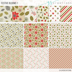 Festive Bloom Patterns 1