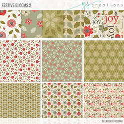 Festive Bloom Patterns 2